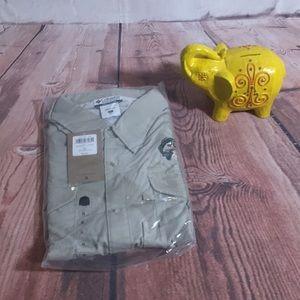 NEW Columbia Bonehead Long Sleeve Shirt in Khaki